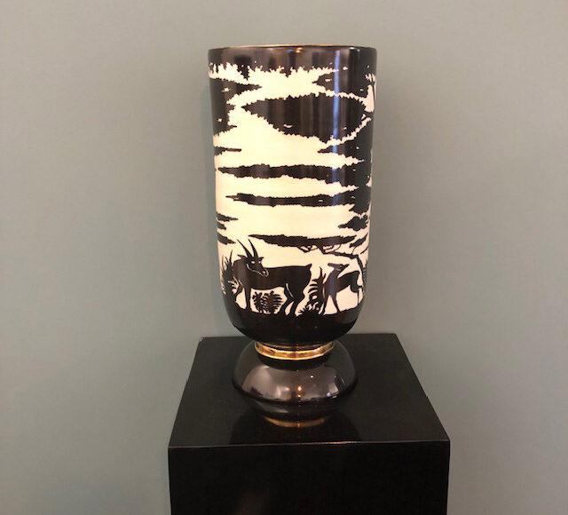 Vase Nicolas Blandin Paris 40cm